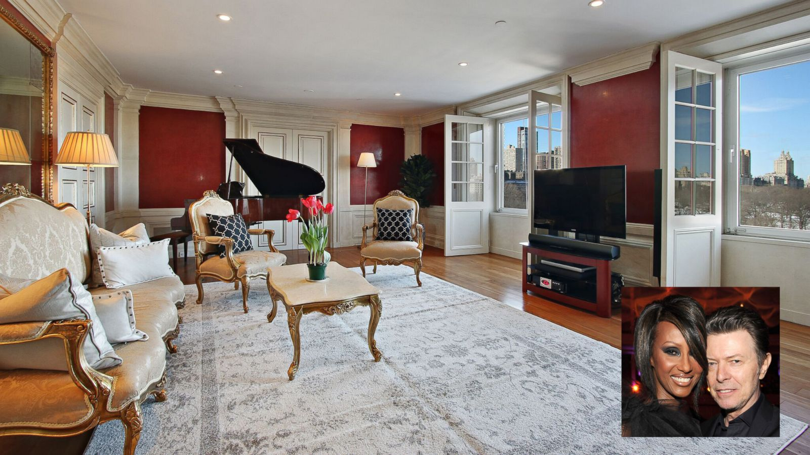 Nyc Apartment Featuring David Bowie S Piano On The Market For 6 5 Million Abc News