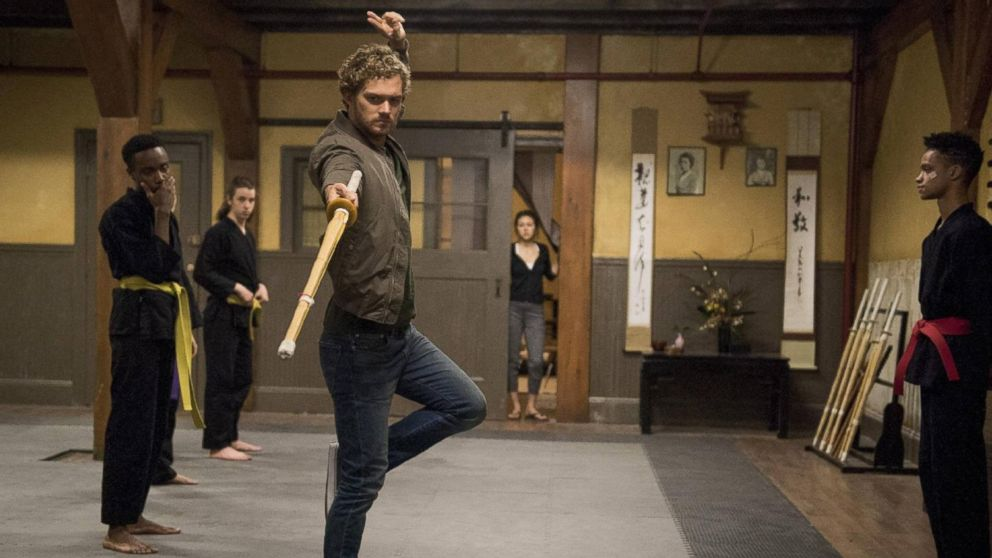 'Game of Thrones' star Finn Jones on his new 'Iron Fist' family