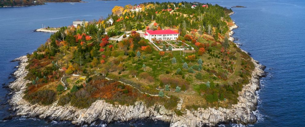 PHOTO: Hope Island, an 86-plus acre island off the coast of Maine, is on the market for $7.95 million.