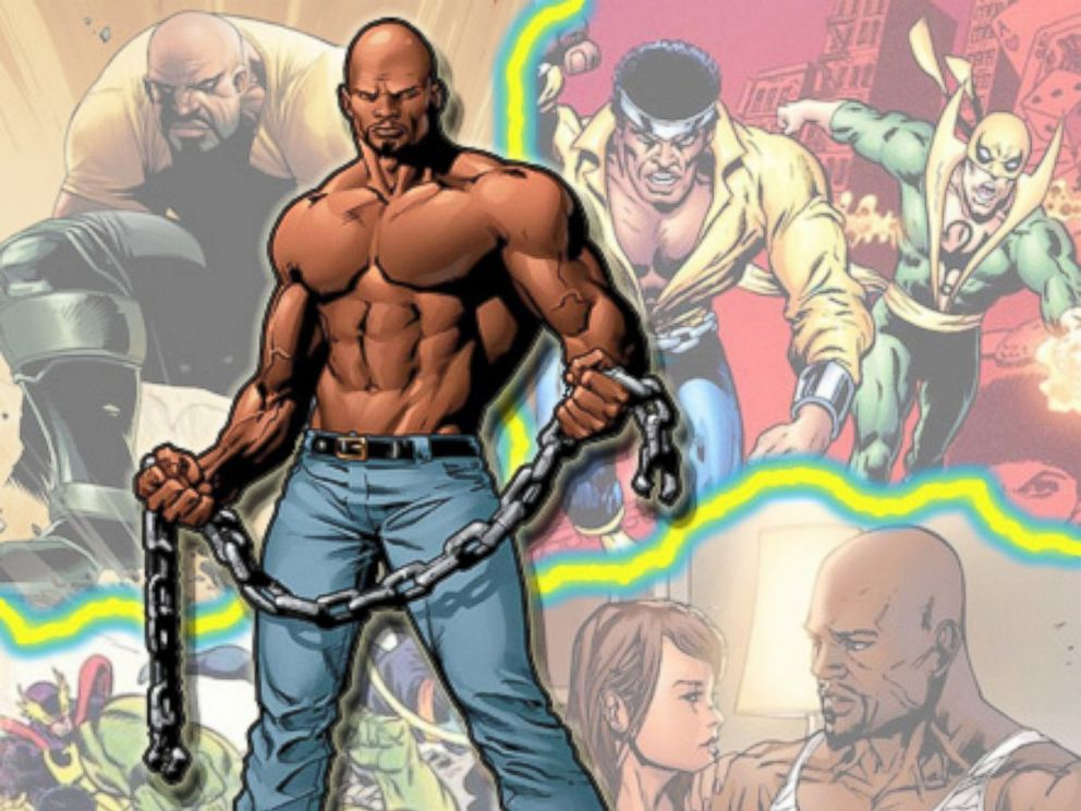 PHOTO: Comic book hero, Luke Cage, in the pages of Marvel Comics.