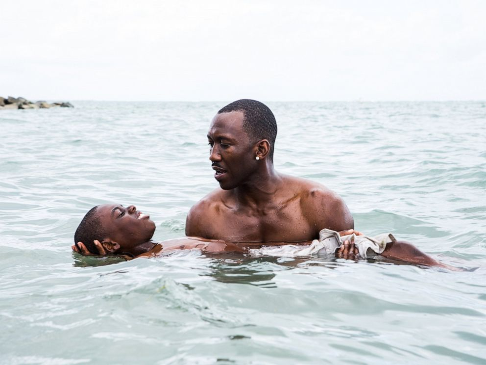 PHOTO: Alex Hibbert and Mahershala Ali in Moonlight.