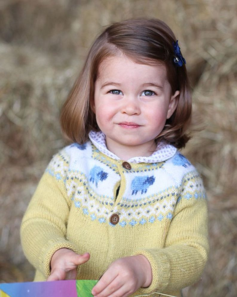 New photo of Princess Charlotte released before her 2nd birthday - ABC News