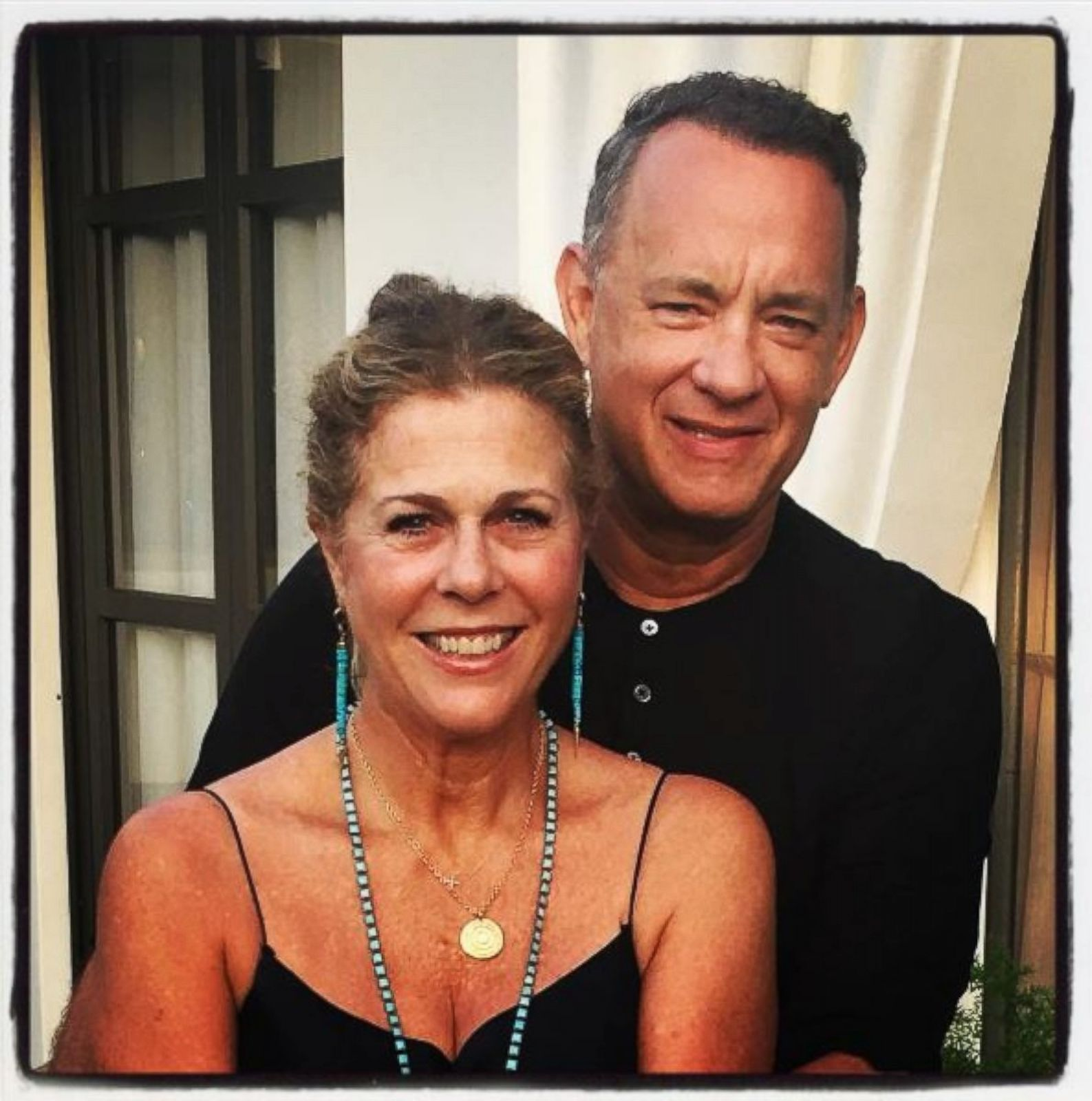 Rita Wilson And Tom Hanks Celebrate 29 Years Of Marriage Picture Celebrities On Social Media Abc News