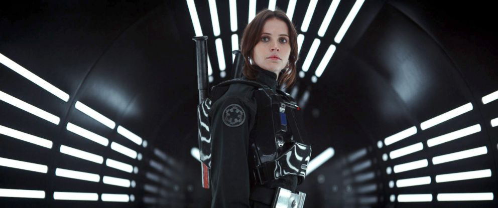 "PHOTO: Felicity Jones in the movie, ""Rogue One,"" 2016."