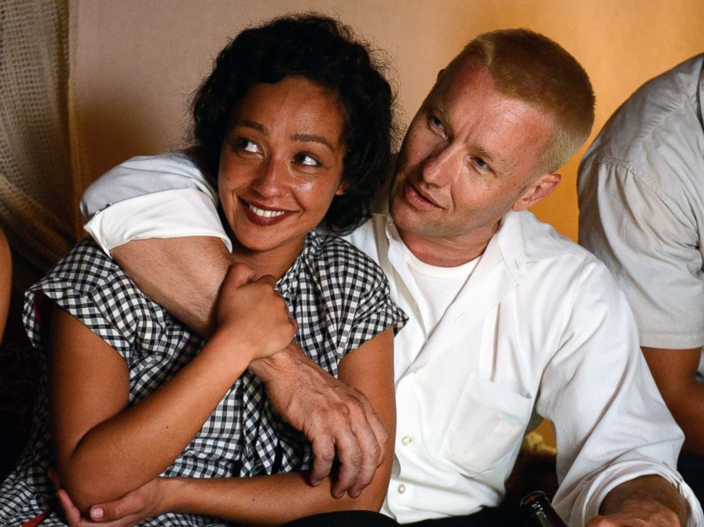PHOTO: Ruth Negga and Joel Edgerton appear in the film Loving.