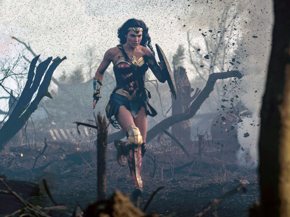 PHOTO: Gal Gadot in a scene from the movie, Wonder Woman, 2017.