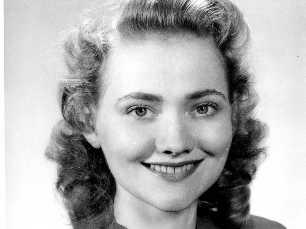 PHOTO: Agnes Nixon is seen here as a student.
