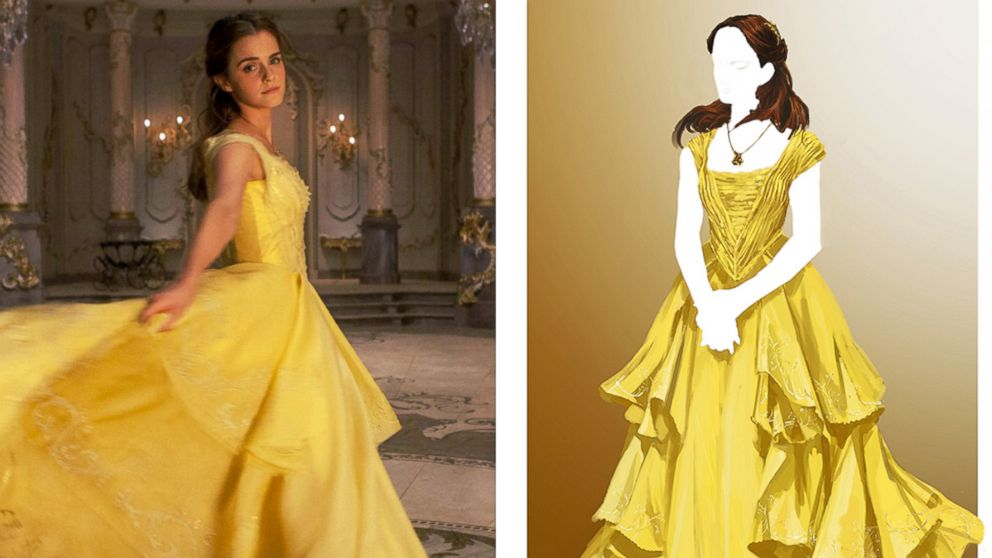 How the \'Beauty and the Beast\' costume designer reinvigorated Belle ...