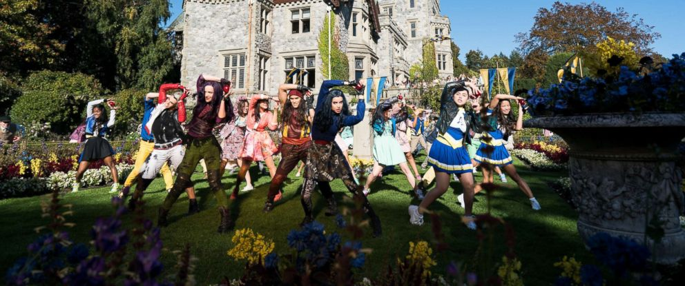 "PHOTO: The cast members of Disneys ""Descendants 2."""