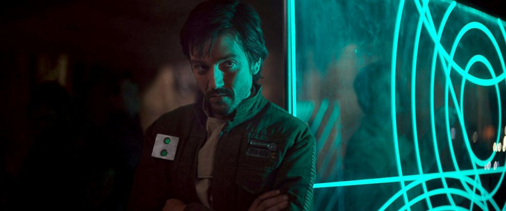 "PHOTO: Diego Luna in a scene from ""Rogue One: A Star Wars Story"""
