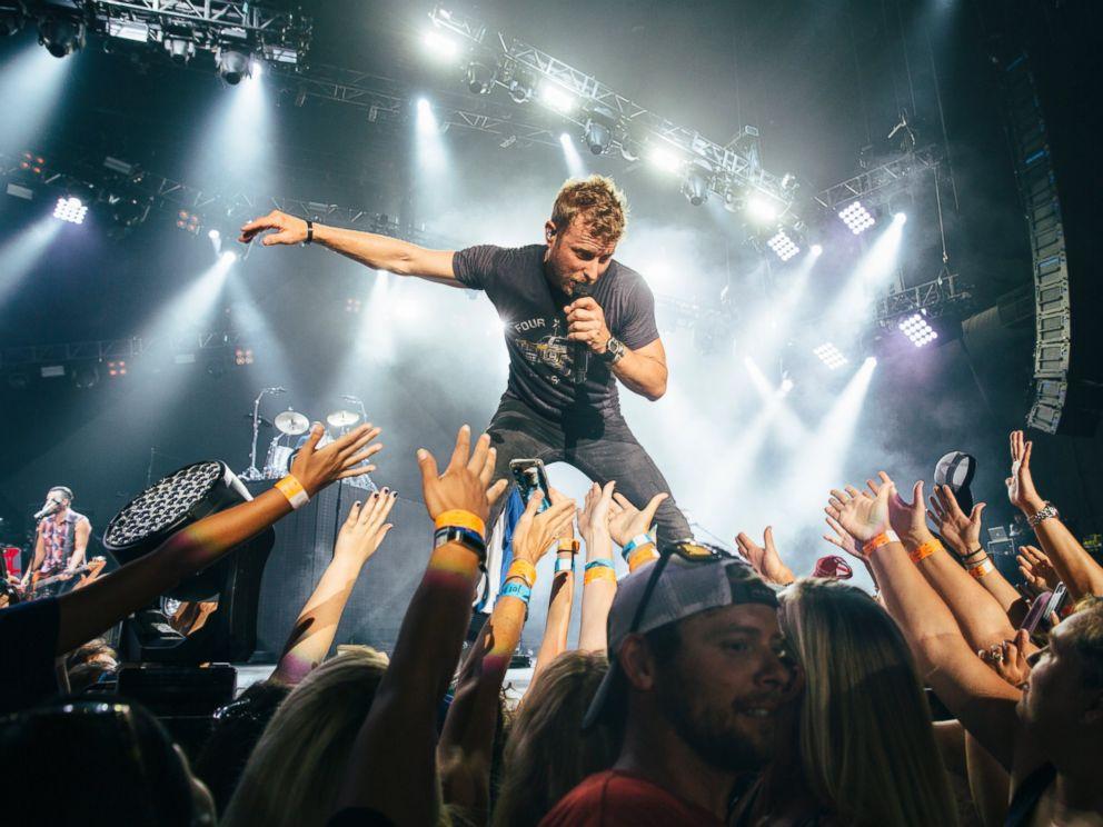 concert summer series america dierks bentley lineup morning entertainment gma abc