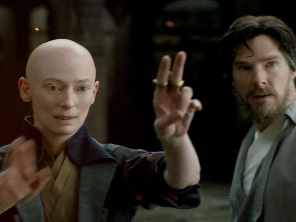 PHOTO: Scene from Marvels Doctor Strange.