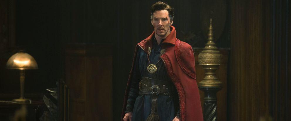 "PHOTO: Scene from Marvels ""Doctor Strange."""