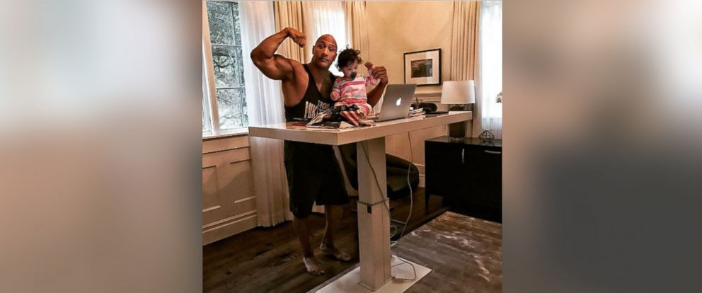 PHOTO: Dwayne Johnson posted this photo to his Instagram account, Feb. 26, 2017.