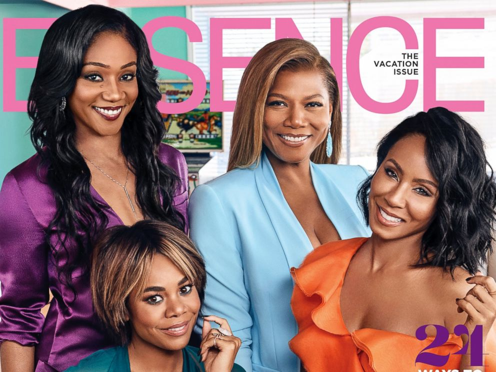 PHOTO: July cover of Essence magazine.