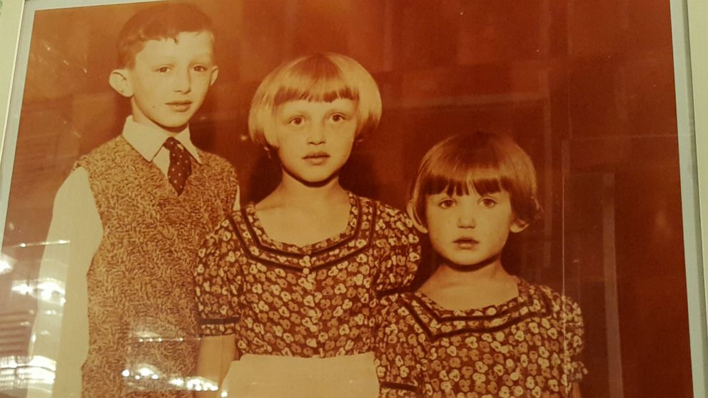 Geraldine Rosen with her brother Eli and sister Mia as kids in Germany.