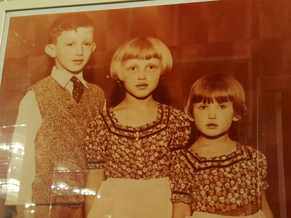 PHOTO: Geraldine Rosen with her brother Eli and sister Mia as kids in Germany.