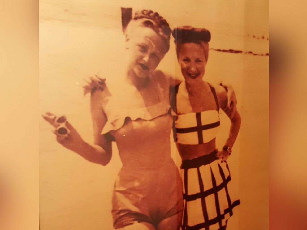 PHOTO: Geraldine Rosen with her sister Mia.