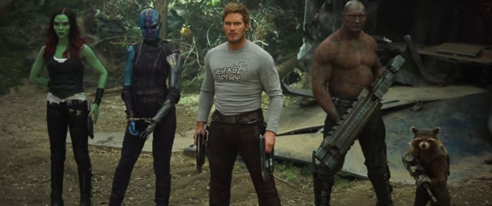 """PHOTO: A scene from """"Guardians of the Galaxy Vol. 2"""" is seen here."""