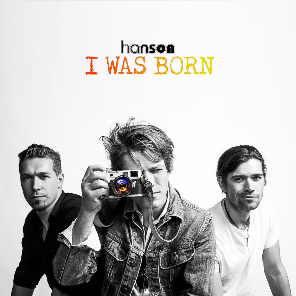 PHOTO: Cover art for Hansons new single, I Was Born.
