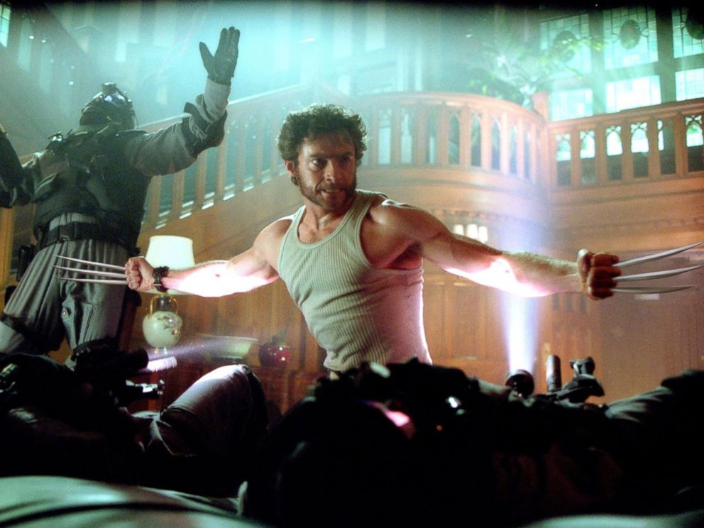 PHOTO: Hugh Jackman, as Wolverine, in a scene from X-Men 2.