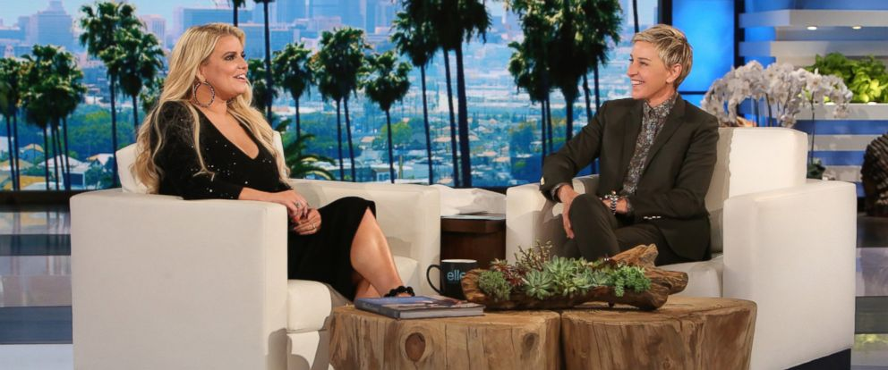 "PHOTO: Jessica Simpson appears on ""The Ellen DeGeneres Show,"" in Burbank, Calif."