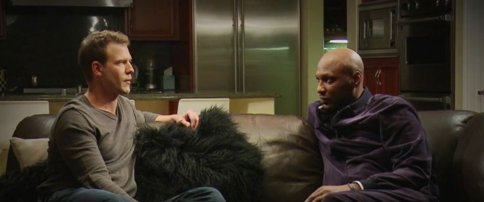 "PHOTO: Lamar Odom appears on the show ""The Doctors."""