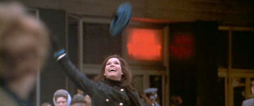 """PHOTO: Mary Tyler Moore is seen in the opening sequence of """"The Mary Tyler Moore Show."""""""