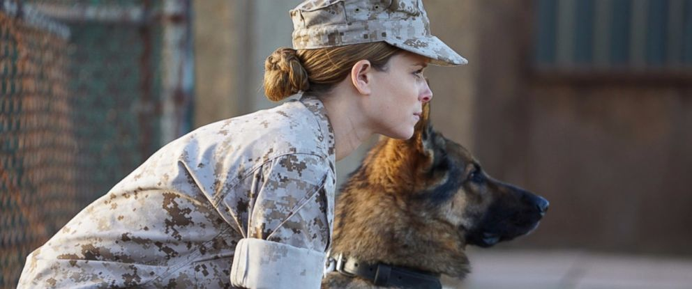 "PHOTO: Kate Mara appears in a scene from ""Megan Leavey."""