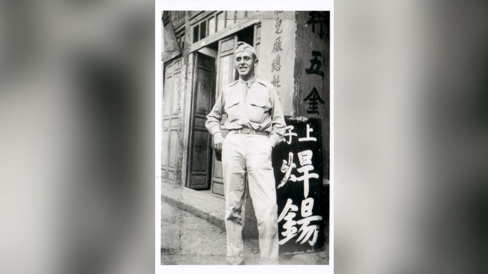 Paul Rothman poses in his Army uniform Circa 1943 in China.