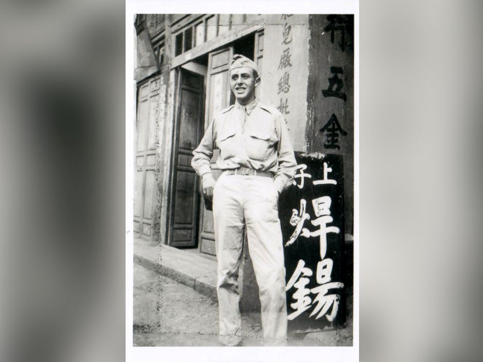 PHOTO: Paul Rothman poses in his Army uniform Circa 1943 in China.