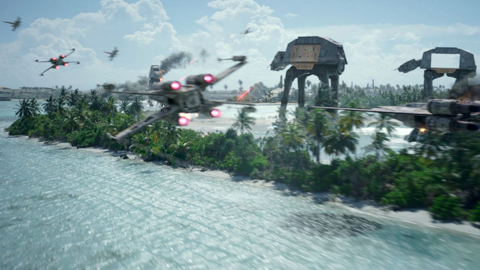 How The Oscar Nominated Effects For Rogue One Were Made Abc News