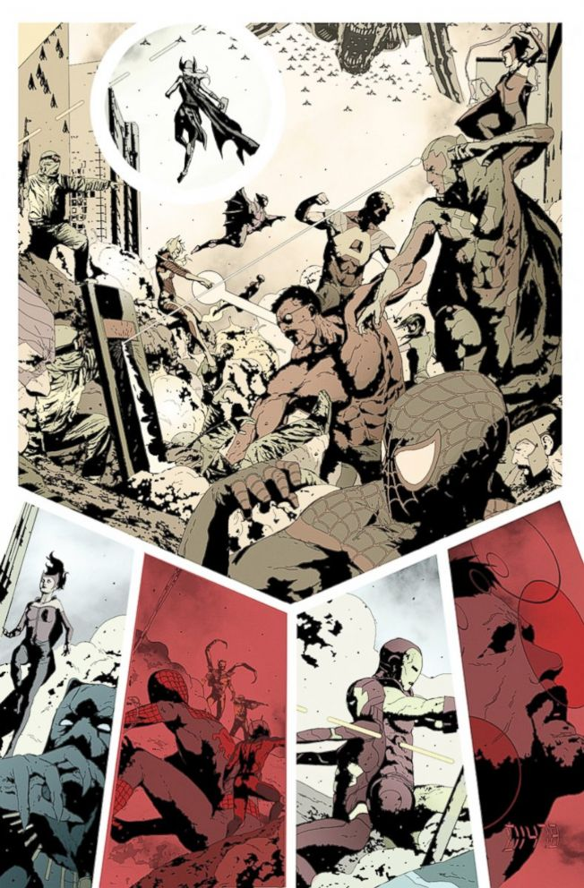 PHOTO: Interior comic page for the upcoming Secret Empire.
