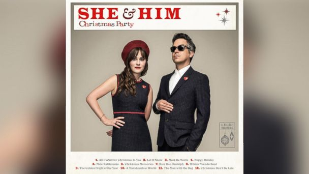 """PHOTO: She & Him - """"Christmas Party"""""""