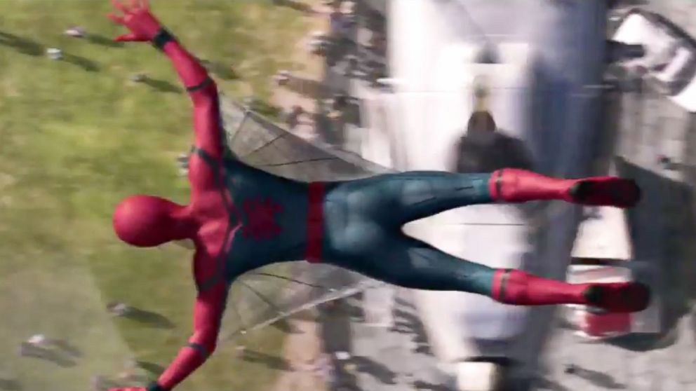f1eb3bb1877 'Spider-Man: Homecoming': First Teaser Clip Features New Suit - ABC News