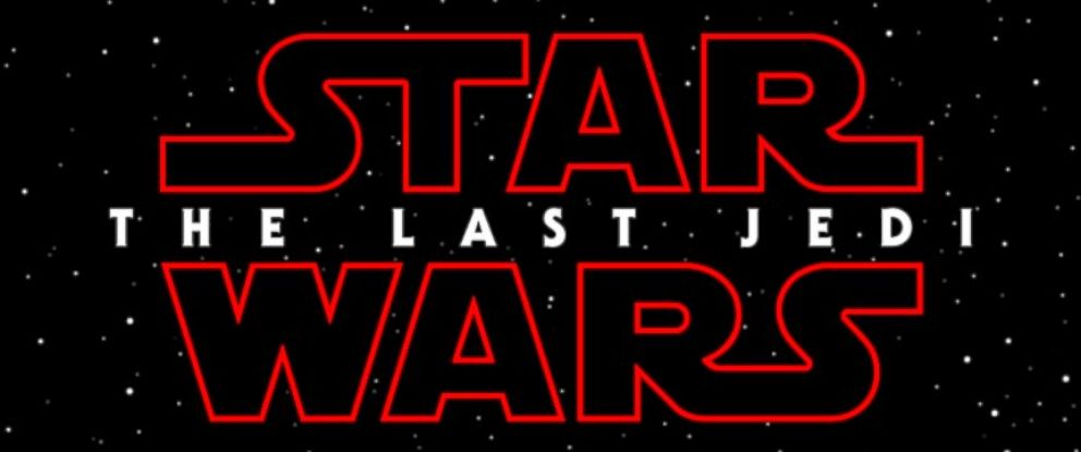 """PHOTO: """"Star Wars: The Last Jedi"""" is scheduled for release, Dec. 15, 2017."""