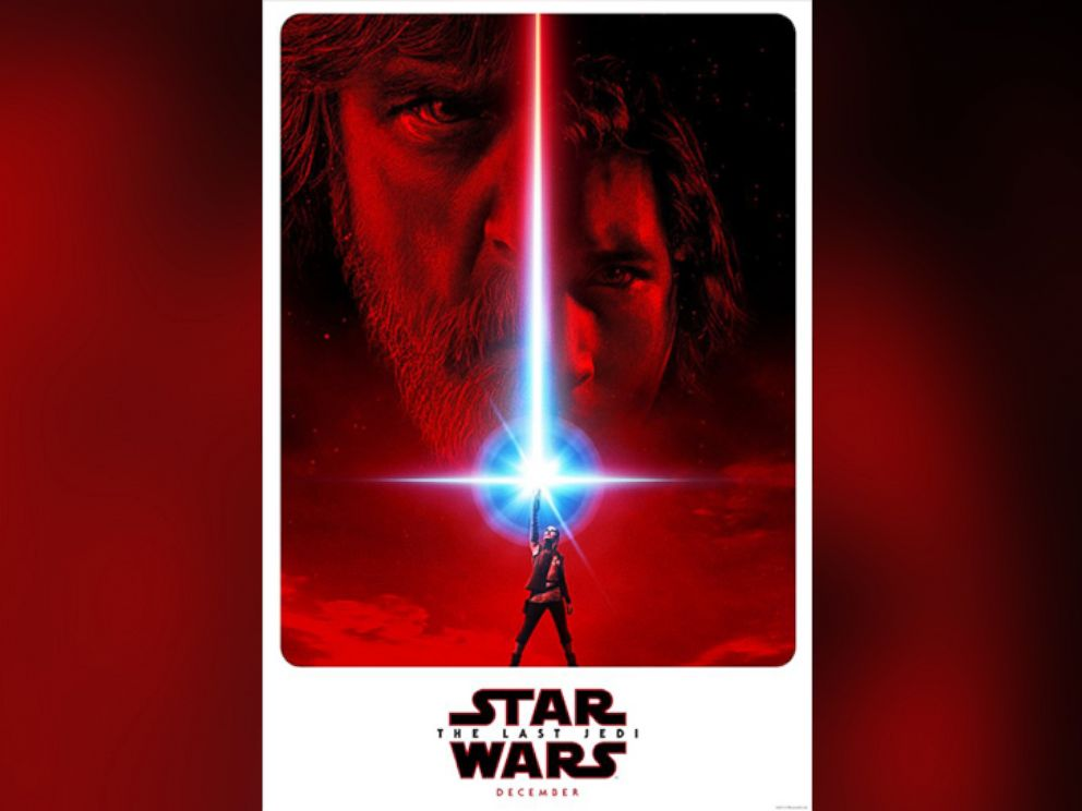 PHOTO: Star Wars: The Last Jedi poster.