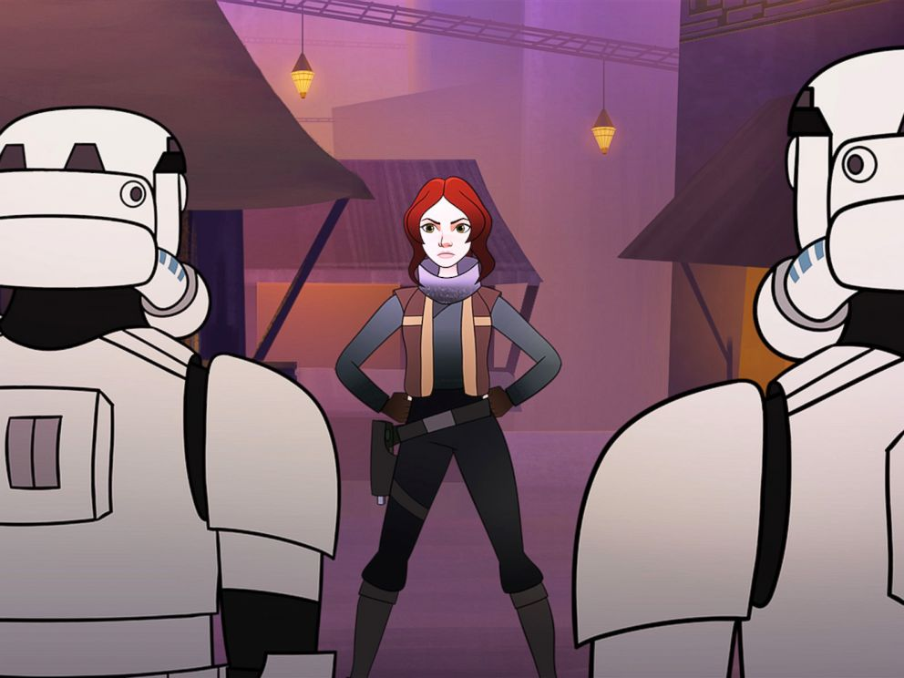 PHOTO: Disney and LucasFilm announce new animated shorts featuring the heroines of Star Wars.
