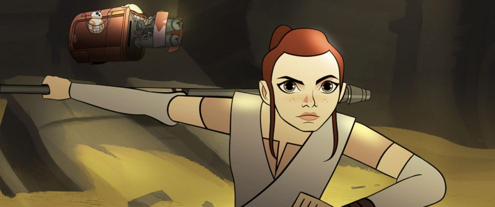 """PHOTO: Disney and LucasFilm announce new animated shorts featuring the heroines of """"Star Wars."""""""