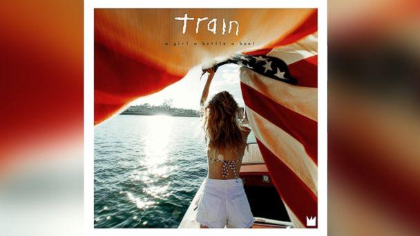 "PHOTO: Train - ""a girl a bottle a boat"""
