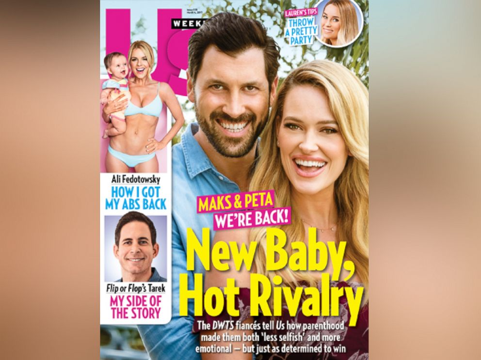 PHOTO: Dancing with the Stars stars Maksim Chmerkovskiy and Peta Murgatroyd said they would return to season 24 of the show in Us Weekly.