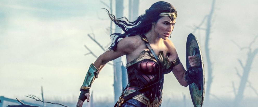 "PHOTO: Gal Gadot in ""Wonder Woman."""