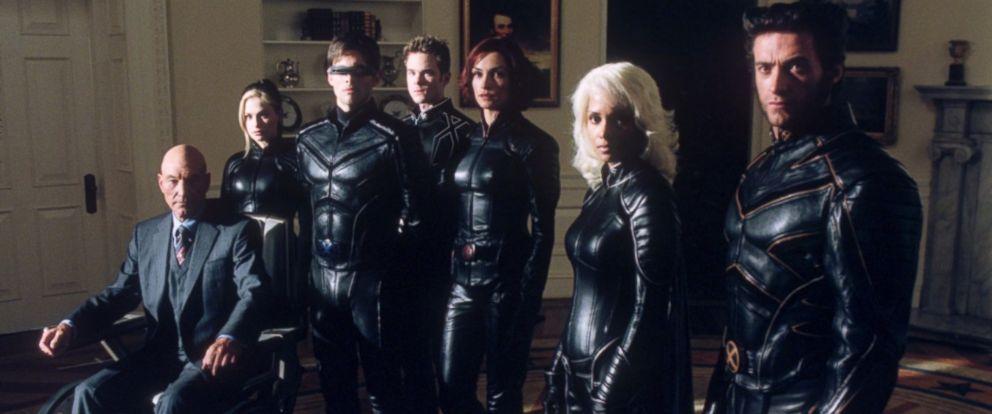 """PHOTO: The cast of """"X-Men 2."""""""