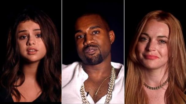 PHOTO: Selena Gomez, Kanye West and Lindsay Lohan appear in Thirty Seconds To Mars video.