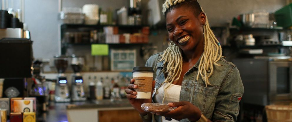 PHOTO: Ariell Johnson is the founder and president of Amalgam Comics & Coffeehouse, Inc.