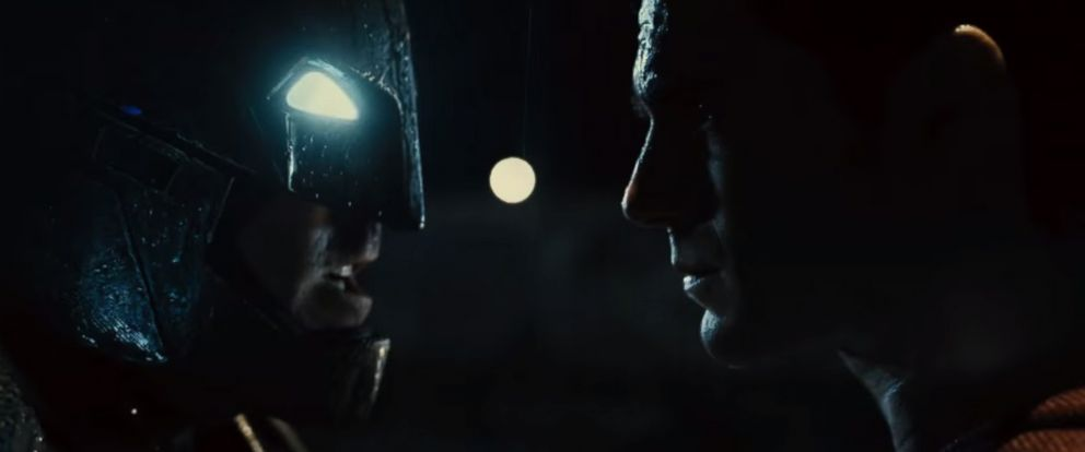 PHOTO: A still from the Batman v Superman: Dawn of Justice - Official Trailer.
