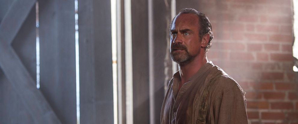 "PHOTO: Chris Meloni in character as August Pullman in the new series ""Underground"" on WGN America, Season 1, Episode 1 ."