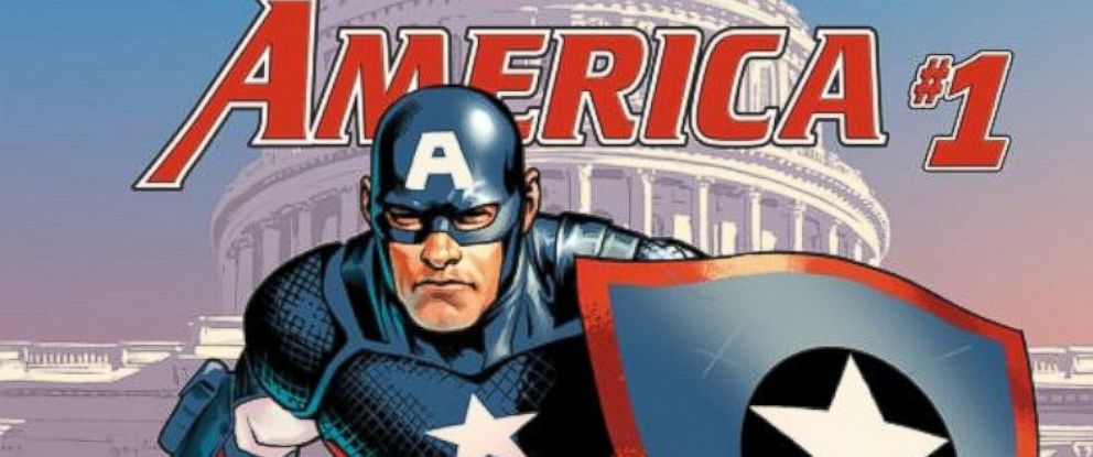 PHOTO: Marvels Captain American #1
