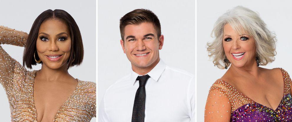 "PHOTO: Tamar Braxton, Alek Skarlatos and Paula Deen compete on season 21 of ABCs ""Dancing With the Stars."""