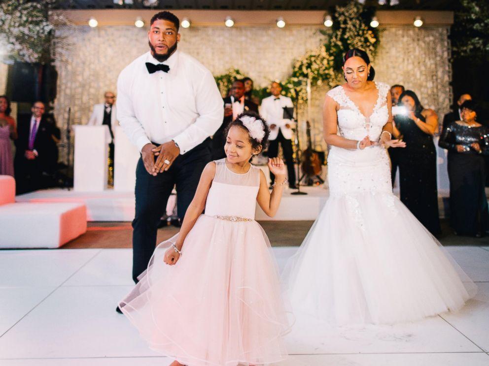 All The Details Of Devon Still And Asha Joyce S Wedding Abc News